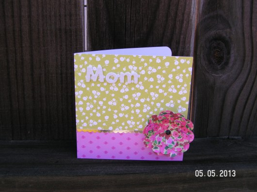 Mother's Day Card - American Crafts lines